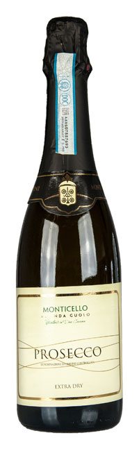 Prosecco Extra Dry - Vini Monticello - Due Carrare - Colli Euganei - Padova Veneto