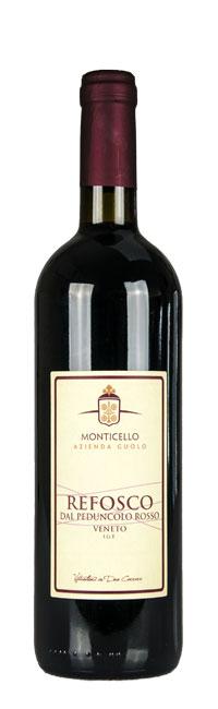 Refosco dal peduncolo rosso - Vini Monticello - Due Carrare - Colli Euganei - Padova Veneto